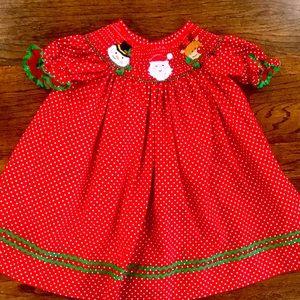 Precious girls holiday dress